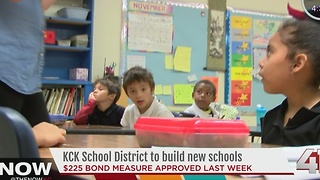 KCK school district to build new schools - Video