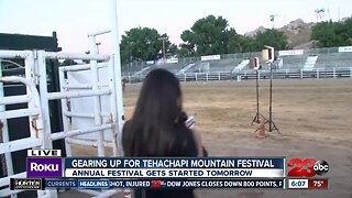 Gearing up for Tehachapi Mountain Festival