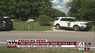 Two children found dead in rural Clay County - Video