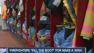 Firefighters going above the call of duty to grant wishes - Video