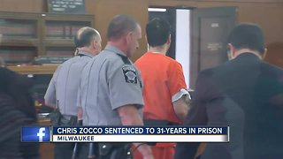 Chris Zocco sentenced to 31 years in prison