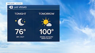 13 First Alert Las Vegas evening forecast | Sept. 20, 2020.