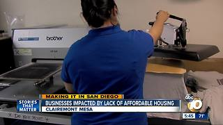 Making  It in San Diego: Businesses Affected by Lack of Affordable Housing - Video