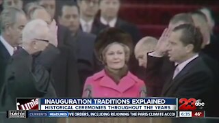 Inaugural ceremony traditions throughout the years