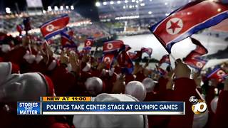 Politics take center stage at Olympic games - Video