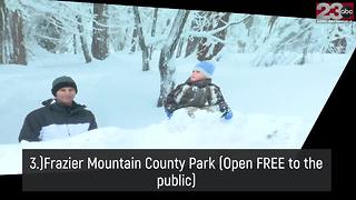 Top five places to spot snow in Kern County - Video