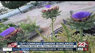 Taft Community Gardens turned to social media to track down burglars