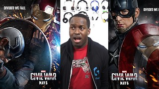Captain America: Civil War trailer reaction - Video