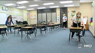 Lee County Teachers return to school