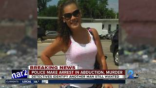 Woman arrested, man wanted for abduction murder