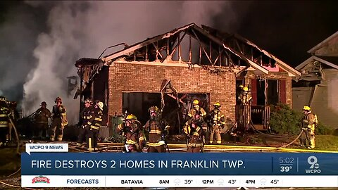 Two houses destroyed, two damaged at Franklin Twp. house fire