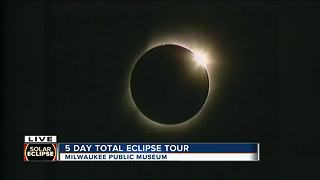 Eclipse enthusiasts set out on five-day total eclipse tour - Video