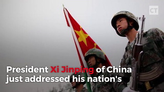 Chinese President Rallies Military - Video