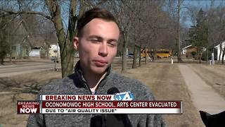 Oconomowoc High School, Arts Center evacuated - Video