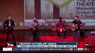Bakersfield Strong: Community event helps victims of Vegas - Video