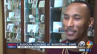 Rudolph Honored At Cardinal Newman - Video