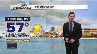 Cooler week of weather - Video