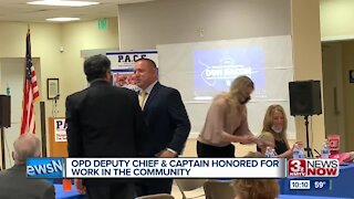 OPD Deputy Chief & Captain Honored for Work in the Community