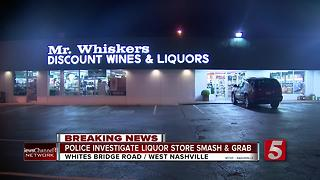 Nashville Liquor Store Burglaries May Be ConnectedPolice believe an overnight liquor store burglary may be connected to others reported in the Nashville area in the past two weeks. - Video