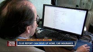 Checking CLUE reports and correcting errors can save you money on insurance - Video