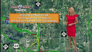 A look at the weekend construction around metro Detroit