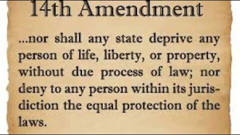 14th Amendment = NESARA and take down corrupt ppl that took oath
