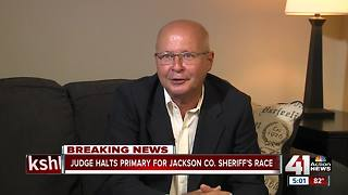 Jackson County sheriff primary election won't count - Video
