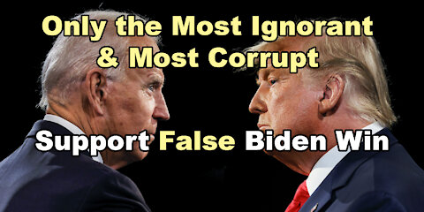 Biden's Massive Election Fraud Reflects their Character & their Deeds w/ John Paul Rice (1of2)