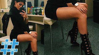 Kylie Jenner is the QUEEN of Lace Up Heels | HS Trending Topics - Video