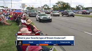 Early cruisers are already on Woodward ahead of the Dream Cruise - Video