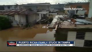 Puerto Rican family stuck in Tampa - Video