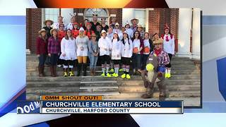 Howdy from Churchville Elementary School - Video