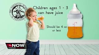 Babies should avoid fruit juice, doctors say - Video