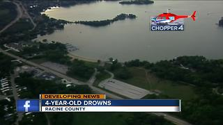Missing Racine four-year-old found dead in lake - Video