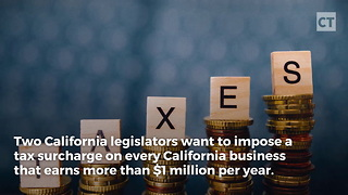 Companies Benefiting From Trump Tax Cut Under Siege In Cali - Video