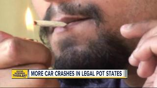 Study links legalized marijuana with increase in car crash claims - Video