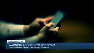 Warning about new job scam