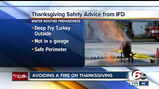 How to fry a turkey safely this Thanksgiving - Video