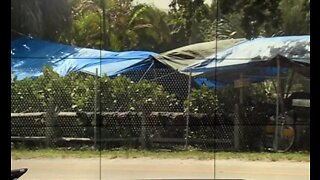Tent City in John Prince Park closed Friday