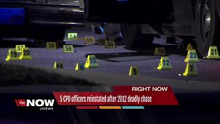 Cleveland police reinstate five officers involved in deadly 2012 chase, shooting