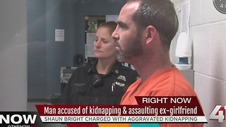 Man accused of kidnapping & assaulting woman - Video