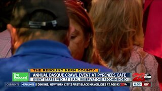 The Rebound: Pyrenees Cafe to participate in Annul Basque Crawl