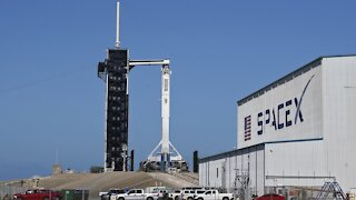 NASA Delays SpaceX Crew Launch Due To Weather Concerns