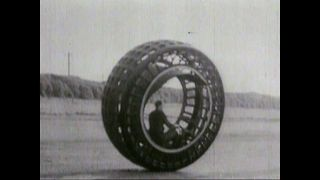 Bizarre 30s Invention: Dynasphere Wheel - Video