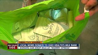 Greater Cincinnati moms donate to OhioHealth's Milk Bank - Video