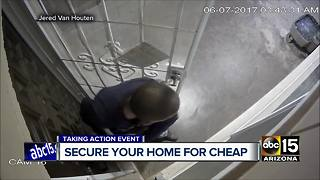 Some tips on how to secure your home for cheap - Video