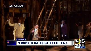 'Hamilton' tickets: How to sign up for ASU Gammage's lottery - Video