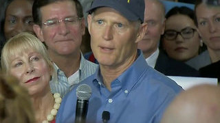 Florida Gov. Rick Scott announces U.S. Senate run - Video