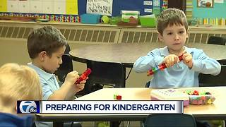 Preparing for kindergarten - Video