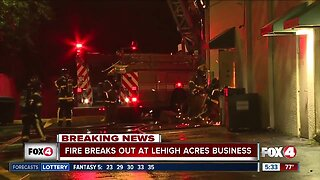 Fire sparks inside Mexican restaurant in Lehigh Acres